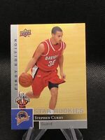 """Stephen """"Steph"""" Curry Upper Deck Star Rookies First Edition #196 *Corner, Read*"""