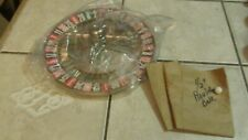 Roulette Wheel 10 Inch With Ball Wheel Only New