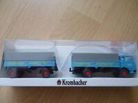 HO - WIKING - Krombacher Edition - Pritschen Lastzug MB LP1620 - OVP !