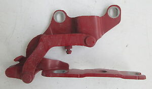 Genuine Used BMW (Red) O/S Drivers Bonnet Hinge for E81 E87 - 7060560
