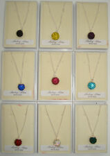 Handmade Round Crystal Costume Necklaces & Pendants