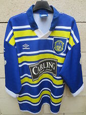 VINTAGE Maillot rugby LEEDS Umbro shirt XIII league L