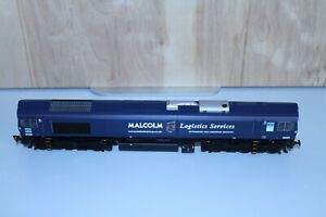 """Bachmann Class 66 Diesel - 66405 DRS Blue """"Malcolm Logistics Services"""" (32-729)"""