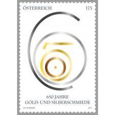 Oostenrijk 2017   650jr goud en zilver    postfris (MNH)