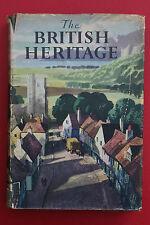 *VINTAGE* THE BRITISH HERITAGE by Odhams Press (Hardcover/DJ, 1948)