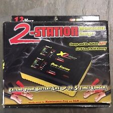 X2 DUAL STATION BATTERY CHARGER