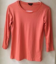Theory Petite Scoop Neck 3/4 Sleeve Shirt $ 85.