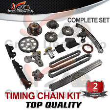 Timing Chain Kit for Suzuki V6 Grand Vitara Escudo Tracker 2.0L 2.5L H20A H25A