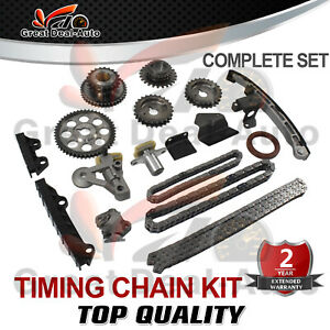 Timing Chain Kit for Suzuki V6 Grand Vitara Escudo Tracker 2.0L 2.5L H20A H25A