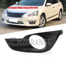 Left Fog Light Cover Bezel Modify Model For Nissan Altima Teana 2013-2015 Driver