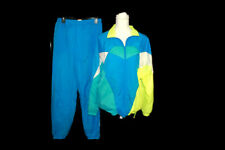 Nike Track Suit Vintage Size Medium Mesh lined RN 56323 Blue Yellow