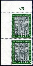 BUND 1951 139 ** POSTFRISCH per 2 ECKRAND 200€+(A8769