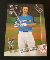 E1 2017 TOPPS NOW AARON JUDGE HOME RUN CHAMPION ROOKIE RC #346 NEW YORK YANKEES