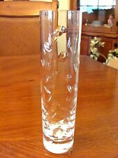 VINTAGE 'BACCARAT' CRYSTAL ORGUE-GRAIN FLOWER BUD OR SM BOUQUET VASE EXCELLENT