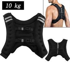 10kg Gewichtsweste Trainingsweste Gewichte Laufweste Sport Fitnessweste NEU TOP