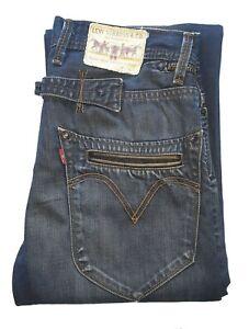 """Men's LEVIS STRAUSS & CO Premium 503 **LOOSE FIT** Blue Jeans W30"""" L34"""""""