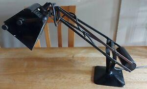 Vintage Hadrill and Horstmann Pluslite lamp