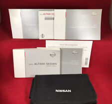💥 2013 13 NISSAN ALTIMA Sedan Owners Manual Factory Information Guide Books