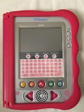 "VTech ""V.READER"" ANIMATED E-BOOK LEARNING SYSTEM Pink Purple."