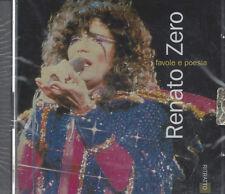 CD ♫ Compact disc **RENATO ZERO ♥ FAVOLE E POESIA** nuovo sigillato