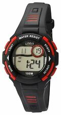 Limit Racing Active Kids Digital Black & Red Sports Watch 5634