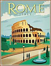 ROME - JUMBO FRIDGE MAGNET -ITALY ITALIAN VATICAN LAZIO EUROPE POPE PAUL FRANCIS