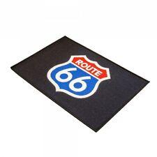Motorrad Fußmatte ROUTE 66 Teppich Fussmatte Türmatte Schmutzmatte Fussabtreter