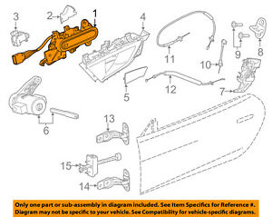 JAGUAR OEM 2014 F-Type-Outside Exterior Door Handle Left T2R1091CHA