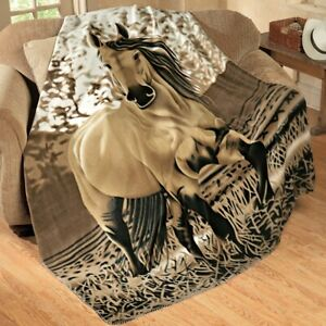 Never Forget Who You Are Ver2 Sofa Fleece Blanket 50-80 Horse