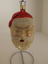 Vintage Inge Glas Ornament - Santa Claus Saint Nicholas