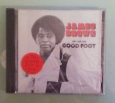 james brown  GET ON THE GOOD FOOT      CD NEW  cover cracks
