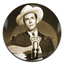 Hank Williams Classic Country Western Singer 25mm / 1 Inch D Pin Button Badge