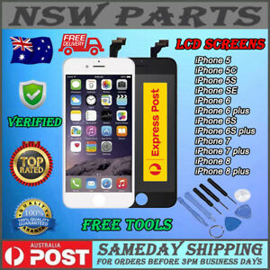 iPhone 7 8 Plus 6S 6 SE 5S LCD Screen Replacement 3D Display Digitizer Assembly