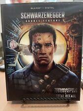Schwarzenegger Total Recall & Terminator 2 (Limited Steelbook) No Digital