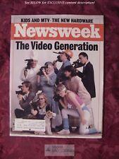NEWSWEEK Magazine December 30 1985 12/85 VIDEOS MTV The Limited Ferdinand Marcos