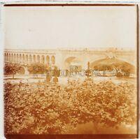 Montpellier Acquedotto Placca Da Lente Stereo Positivo Vintage