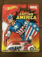 2014 Hot Wheels pop culture Captain America '38 dodge Airflow With R/R