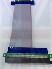 HIGH QUALITY 8x to 16x PCI-E EXTENSION CABLE RISER FLEXIBLE EXTENDER CARD
