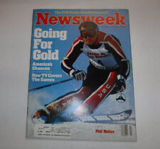 Newsweek Magazine Phil Mahre Going For Gold February 13, 1984 101916R