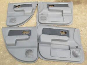 NISSAN CUBE Z11 GEN 2 SET OF 4 DOOR CARD INTERIOR PANELS