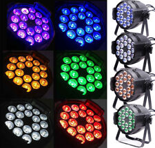 (Pack of 4) Led Par Wash 18pcx15w 6in1 RGBWAUV Lamp,for KTV Club Party Wedding