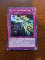 YuGioh Magistery Alchemist NM (1st Ed.) LED6-EN016 Super Rare Card
