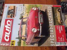 µ? revue Auto Passion n°5 2 CV Cabriolet Essai Floride M. Holz Caravane Notin