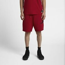 Jordan Jumpman Logo Shorts Mens Fleece Bermuda Sweat Wicking Bottom [AQ3115-687]