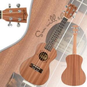 "New 23"" Kasch MUH-505 Professional Exquisite Sapele Material Concert Ukulele"