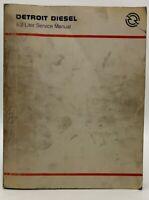 Detroit Diesel 8.2 Liter Service Manual Shop Repair Book Diesel Engine 19-3052A