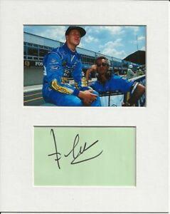 Flavio Briatore formula one signed genuine authentic autograph signature AFTAL