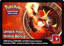 Pokemon Delphox Tin Promo Code Card for Pokemon TCG Online