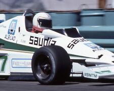 1978 Driver ALAN JONES Glossy 8x10 Photo Formula 1 U.S. Grand Prix West Poster
