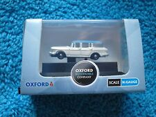 OXFORD DIECAST N GAUGE SCALE NSS005 HUMBER SUPER SNIPE WHITE / BLUE NEW BOXED